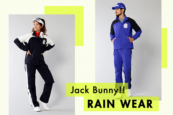 CHECK!! Jack Bunny!! RAIN WEAR