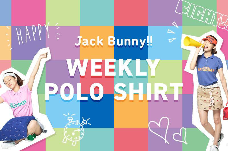 <Jack Bunny!!>WEEKLY POLO SHIRT DEBUT!