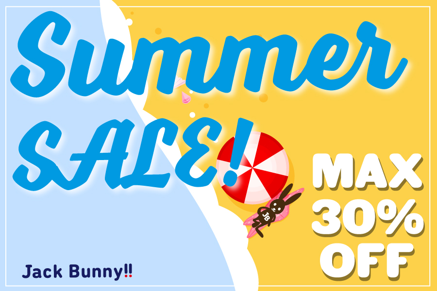 Jack Bunny!! SUMMER SALE 6月28日AM10時スタート!…